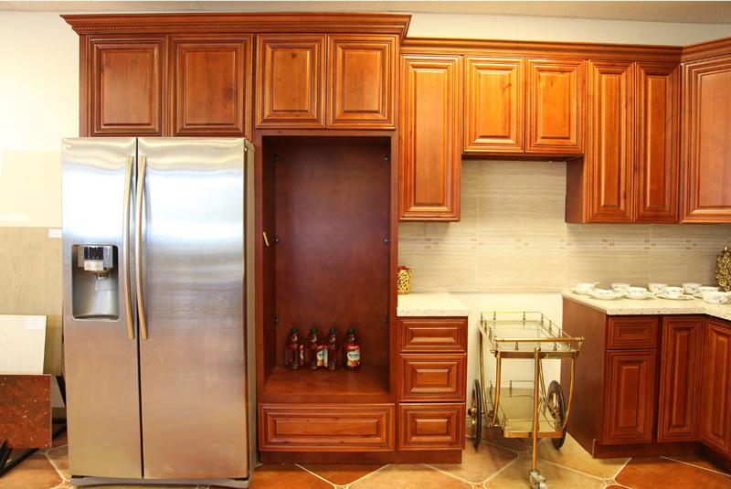 Cherry Oak Cabinets